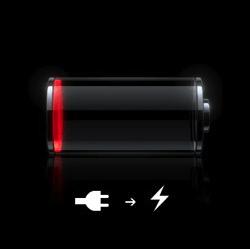 Batteria scarica